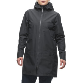 Houdini W's Marple Coat Rock Black